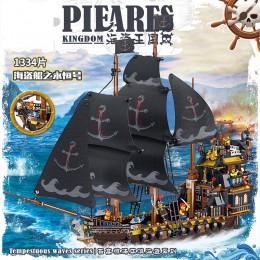 QL1803 ZHEGAO Королевство пиратов: корабль Мститель
