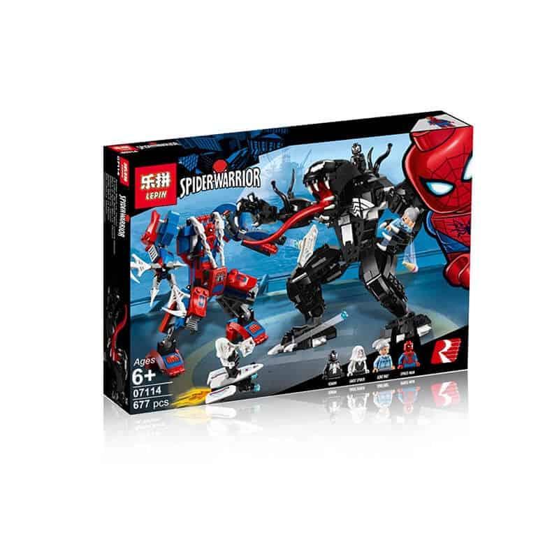 07114 Lepin Человек-паук против Венома (аналог 76115 Лего ...