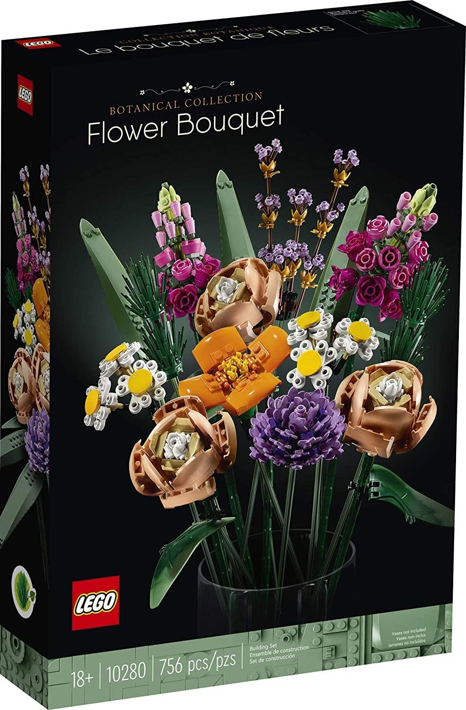 Букет цветов из ботанической коллекции «Лего»